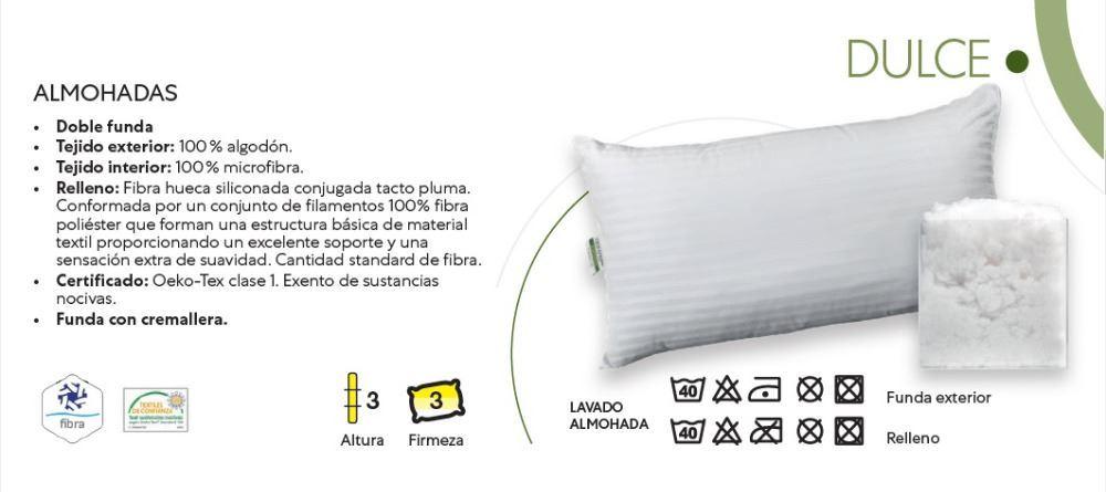 Almohada Relax fibra Dulce