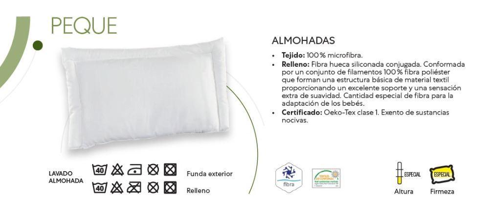 Almohada Fibra Peque