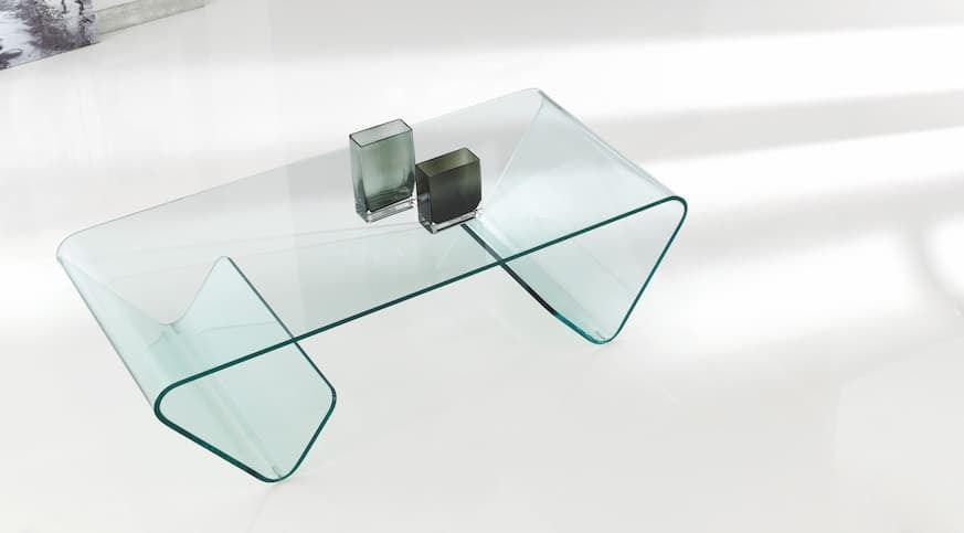 Mesa de centro SUSI de cristal
