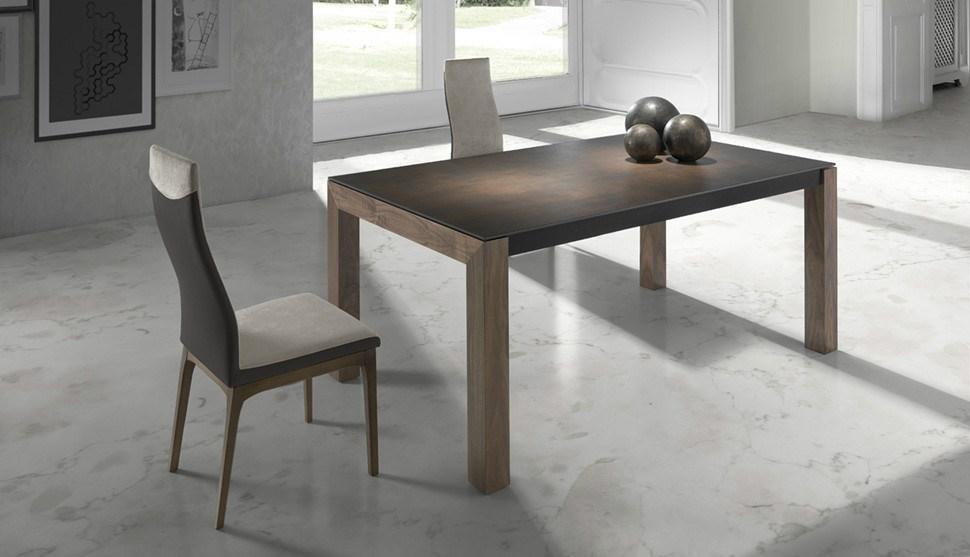 Mesa de comedor extensible IRON