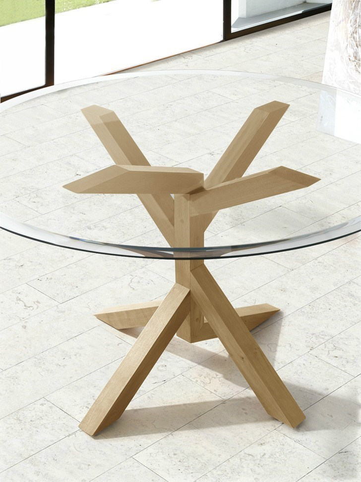 Mesa de comedor TREE WOOD redonda